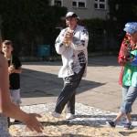 Clown Dago & Clowndine Luftikus sorgen für Spaß - Stadtteilfest 2014