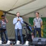 Eröffnung des Stadtteilfestes durch den Oberbürgermeister Silvio Witt (A.M)