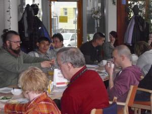 Quartiersfrühstück im April 2014 - Service für Bürger - Bürgerservice Rathaus