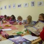 Leseaktion im Rahmen des Bundesweiten Vorlesetag 2013 (BI Leben am Reitbahnweg)