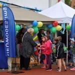 Das Glücksrad wurde wieder von der NEUWOGES betreut - Stadtteilfest 2015