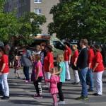 Line Dance mit der AWO - Stadtteilfest 2015